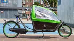 WorkCycles Kr8 Grey-Green-7 (@WorkCycles) Tags: amsterdam bak bakfiets bakfietsen bicycle bike box cargobike dutch family kr8 transport workcycles