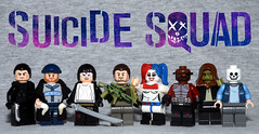 DC Figbarf #3: Suicide Squad (Evgenion) Tags: lego custom minifigures figures minifigs figs suicide squad moc movie film slipknot captain boomerang katana rick flag harley quinn deadshot killer croc diablo dc extended universe dceu comics detective book super heroes superheroes brick forge brickforge