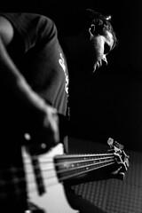 Bass (Franquito M) Tags: bajo music bass musica sound sonido nikon 35mm d5200 blanco blancoynegro negro negroyblanco grey gris bw wb instrumento rock band banda rockandroll strings cuerdas string people allpeople persona personas chico guy man men ensayo playing guitar guitarplayer player musico