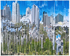 Moscone Marsh (tofuart) Tags: sanfrancisco california art mixedmedia sfmoma center timetravel soma yerba moscone buena sfmomasoma
