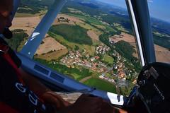 DSC_0181 (jirikoo) Tags: plane woods view dam aircraft sightseeing meadow aerial pasture valley czechrepublic ultralight vltava moldau theczechrepublic orlik pribram