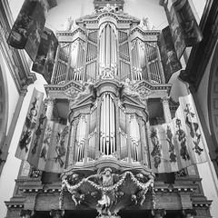 Organ of the Royal Church (farflungistan) Tags: westerkerk amsterdam blackandwhite organ church churchorgan pipes netherlands nederland holland photowalk mobilephoto