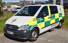 Secamb MB Vito Specialist Paramedic GX64 FTA 2310 MRH (policest1100) Tags: paramedic mb vito specialist fta 2310 mrh secamb gx64