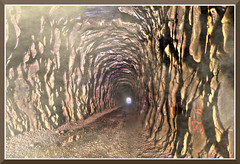 DonnerTunnel_3868d (bjarne.winkler) Tags: there is light end tunnel just hope it freight train coming your direction donner summit pass ca
