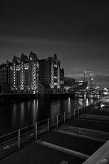 Hamburg Hafencity/Speicherstadt (stein.anthony) Tags: cityscape hafencity nachtaufnahme longexposure bw sw hamburg speicherstadt