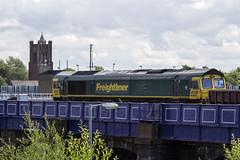 66957 6K24 (Rossco156433) Tags: kilmarnock scotland ayrshire eastayrshire train loco locomotive diesel engine gbrf class66 shed freight gbrailfreight electromotivediesel generalmotors networkrail engineering 66957