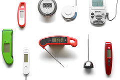 digital meat thermometers on white background (yourbestdigs) Tags: white hot cold home metal modern illustration digital technology display object probe battery cable screen number plastic equipment medical health instrument button medicine temperature thermometer electronic gauge healthcare vector isolated degree fever measuring measurement clinical indicator celsius liquidcrystal