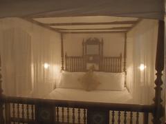 Secret Garden (Carrascal Girl) Tags: secretgarden hotel boutiquehotel kochi fortkochi india accommodation lodging bed bedroom fourposter furniture mosquitonet