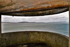 Mumbles Lighthouse (4) (howell.davies) Tags: mumbles lighthouse gun casement bunker view bay wales uk nikon d3200 1855mm seascape sea water sky swansea