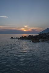 M n fund (VALERIA MORRONE  ) Tags: dhrmi plazh shqipri albania valora vlora valeria morrone nikon d60 tramonto sunset muzg jon deti