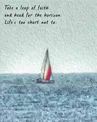 observational haiku (smacss) Tags: sailboat water app haiku