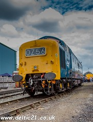 55009 (deltic21) Tags: deltic napier british rail preservation english electric 55 regiments racehorses