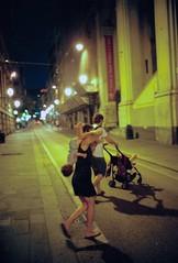 Genova (Etumies) Tags: streetphotography filmphotography analogousphotography leica leicaphotography italia italy genova genoa liguria ligure family citynight