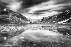 Flelapass, Switzerland (nigel_xf) Tags: flelapass graubnden schweiz swiss switzerland schottensee mountains sky clouds wolken berge himmel see alpen alps snow schnee nigel nigelxf nikon nikon d750 vsfototeam reflection reflektion reflexion spiegelung