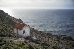 The House on the Hill (Rebecca Haranczak) Tags: ocean hill house landscape pacific cottage trail hike norcal nature mountain coast westcoast california sony a7r voigtlander 50mm color