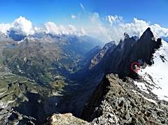 Becca di Guin (Andrea.it) Tags: montagne mountains alpi alps climb alpinism alpinismo valturnenche