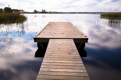 Jetty (MichaelThelin) Tags: gvle long exposures outdoors jetty water sweden