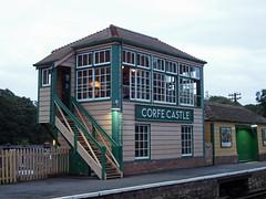 Swanage Railway 2016 (Daves Portfolio) Tags: swanage railway steam swanagesteamrailway dorset corfe castle station signalbox 2016