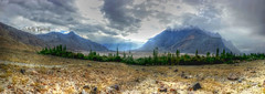 A look back towards Shigar (S4) (Adil Tanoli) Tags: shigar skardu kharpocho landscape s4 panorama tonemapping gilgit