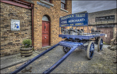 Ironbridge Foundry Alley (Darwinsgift) Tags: ironbridge museum telford shropshire blists hill victorian town coal merchant nikkor 20mm f18 g old antique history hdr photomatix