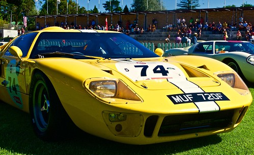 ford fordgt40lemans classic car