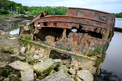 Cimetiere de bateaux (pijpers662) Tags: shipwreck fx d610 shipcemetery