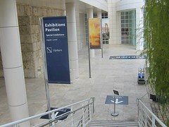 Museum, The Getty Center, Pole Banner