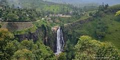 Devon Falls - Sri Lanka (Image One) (Dunstan Fernando) Tags: mountains nature water landscape countryside waterfall devon srilanka dunstan beautifullandscape beautifulsrilanka d7000 devonwaterfalls