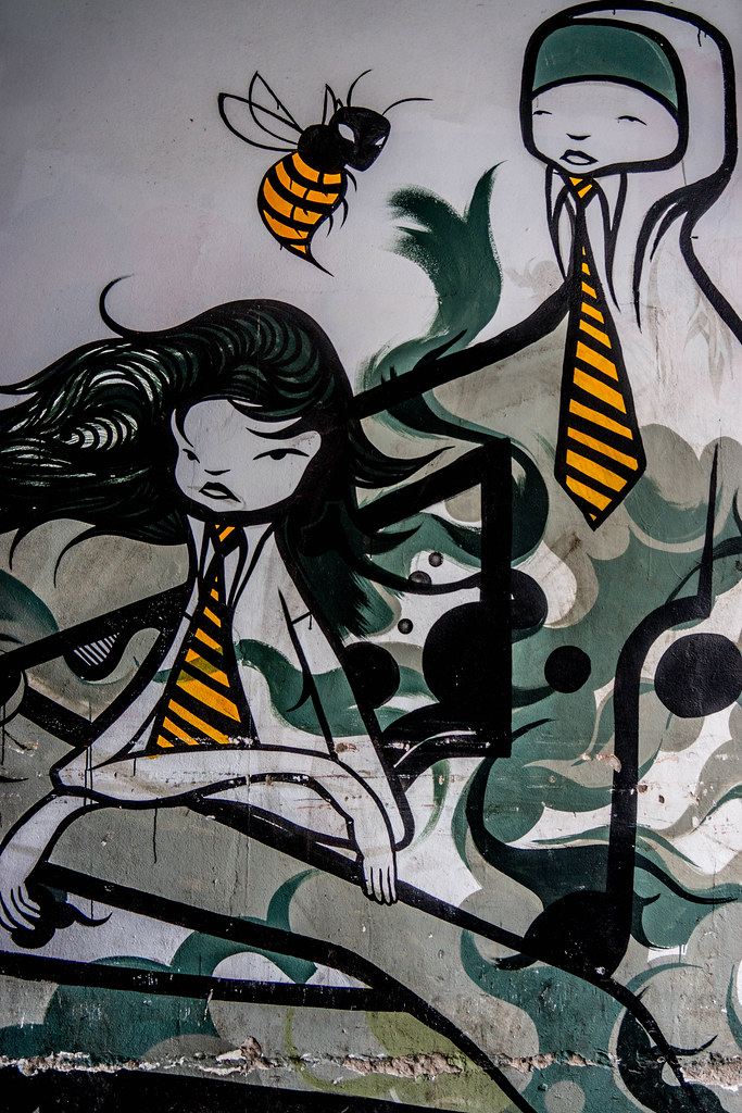 Street Art In Belfast [May 2015] REF-104671