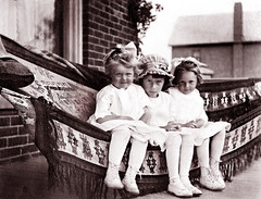 Between Friends -- about 1917 (JFGryphon) Tags: hammock 1917 betweenfriends westonontario ansonmcnish florencemcnish