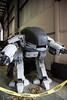 ED-209 (jjthandcd) Tags: light train robot diy fair led suit sound faire electronic maker robocop droid ed209 exosuit