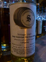 Longrow 1983 SIGNATORY VINTAGE 43% (eitaneko photos) Tags: vintage tokyo bottle september single whisky 1983 cl 43 malt 2014 signatory longrow