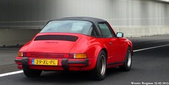 Porsche 911 Carrera Targa 1986 (XBXG) Tags: auto old holland classic netherlands car vintage germany deutschland automobile 911 nederland voiture german porsche 1986 a4 paysbas deutsch carrera ancienne porsche911 targa duits allemande 39xlpl