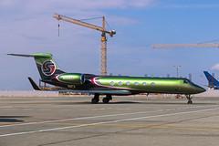 Sexyjet (Oleg Botov) Tags: sky plane airport aircraft aviation jet spotting airliners gulfstream avia jetliner svo  planespotting  sheremetyevo  avgeek uuee  planeporn crewlife sexyjet slavniyoleg