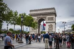 Arc de Triomphe, Paris (ABKamleh) Tags: arcdetriomphe paris france monument landmark travel photography tourism d90 nikon nikkor1801050mmdxvr