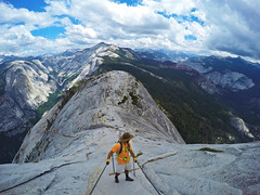 Half Dome Summit (dominate15) Tags: findyourpark nationalparks explore travel outdoors hiking outside climb yosemite halfdome adventure amazing amazingplaces gopro