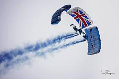 The Tigers ( Ian Flanagan) Tags: tigers sunderland airshow 2016 parachute display team