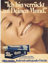 Ultra White 1971 (Runabout63) Tags: advert toothpaste white