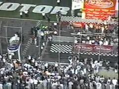 Jeff Gordon Wins the 2001 Winston All Star Race Part 3 - Finish (buyjeffgordon) Tags: jeffgordonracing accidents allstar charlottemotorspeedway crash crashes jeffgordon jeffgordonwin lowes nascar r rain wins winston wreck