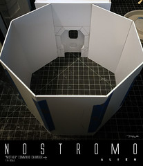 NOSTROMO-MOTHER-CHAMBER-1 (sith_fire30) Tags: alien nostromo mother muthur6000 sulaco prometheus covenant dallas ash ripley chamber corridor bridge weyland yutani scratch building model making custom action figures toys diorama art sithfire30 dayton allen
