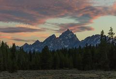 Grand Tetons (Frank McNamara) Tags: sunset mountain wyoming nps nps100 grandtetons