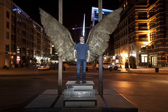 Denver_20160711_163 (falconn67) Tags: city longexposure travel sculpture canon wings colorado denver riverfrontpark 24105l jorgemarin 5dmarkii wingsofthecity