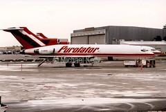 Purolator                                   Boeing 727                                 C-GKFZ (Flame1958) Tags: cgkfz purolatorb727 boeing727 boeing 727 b727 b727f airfreight aircargo 0899 1999 scan print