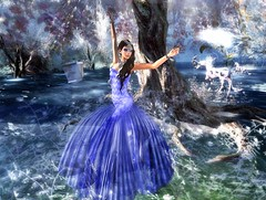My Mblieu Fantasy (1) (Monica Querrien) Tags: secondlife chopzuey ghee loveydoveyhair fantasy unicorn magical
