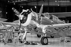 Curtiss P-36C Hawk - Service (hoobgoobliin) Tags: curtiss p36c hawk duxford hoobgoobliin fujifilm fujifilmxe2 fujifilmxf56mm shiny airplane aeroplane fighter silver cockpit tools propeller