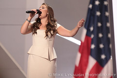 Ayla Brown - 2016 Republican National Convention in Cleveland, OH #RNCinCLE (mikelynaugh) Tags: rncincle republicannationalconvention rnc republican trump convention cleveland americafirst makeamericagreatagain politics politicalrally ohio trump2016 aylabrown nationalanthem