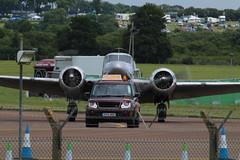 Follow me. (aitch tee) Tags: aircraft vehicles arrivals followme royalinternationalairtattoo raffairford riat2016 thursday7july2016
