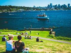 Gasworks Park (ckwright) Tags: seattle gasworkspark