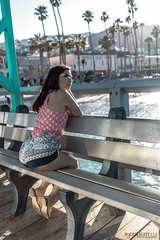 R3D08369 (Studio.R) Tags: asian asianwoman a6300 sonya6300 sonyphoto travel portrait catalinaisland hmong bench lookout