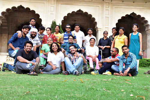 Group Photo- Heritage Tour to Red Fort